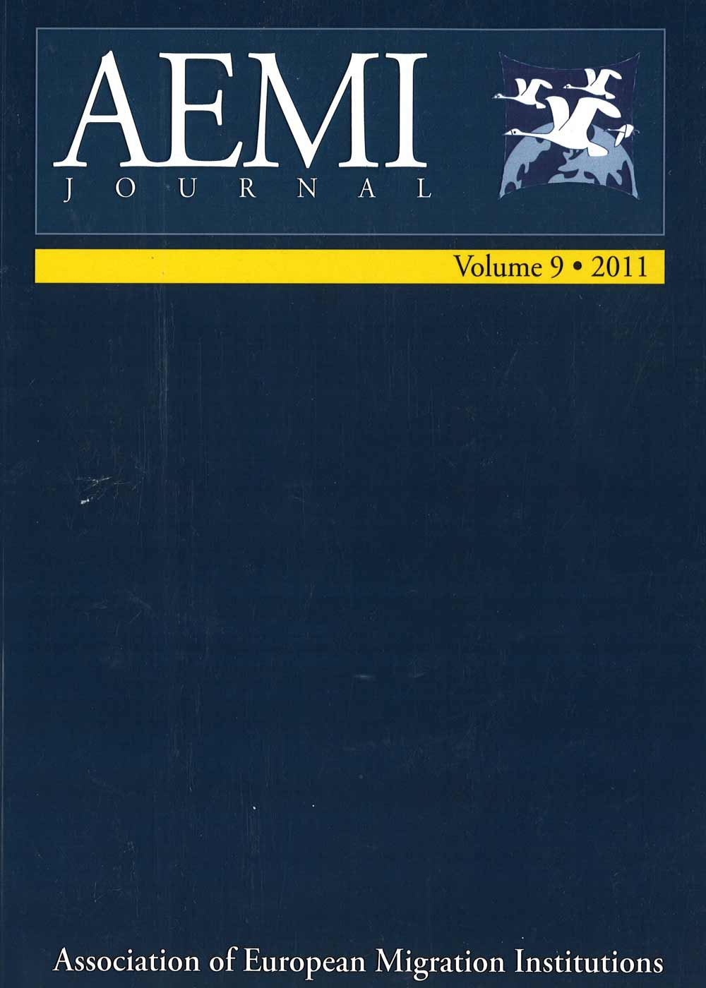 AEMI Journal – Volume 9 (2011)