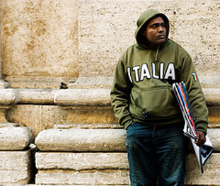 Pictures of International Migration to Italy